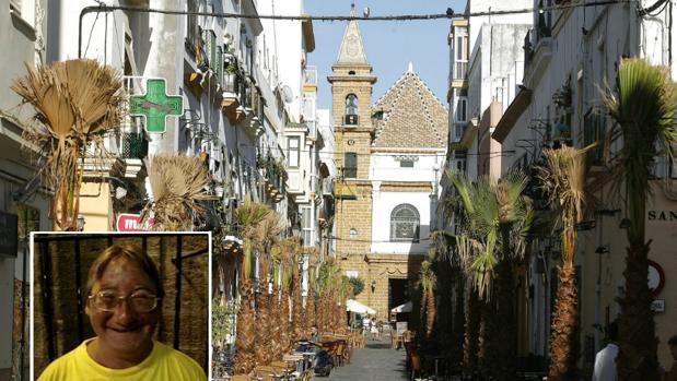 La Uchi, símbolo del barrio de la Viña de Cádiz.