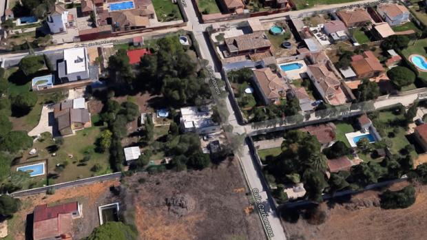Calle Carboneros en Chiclana