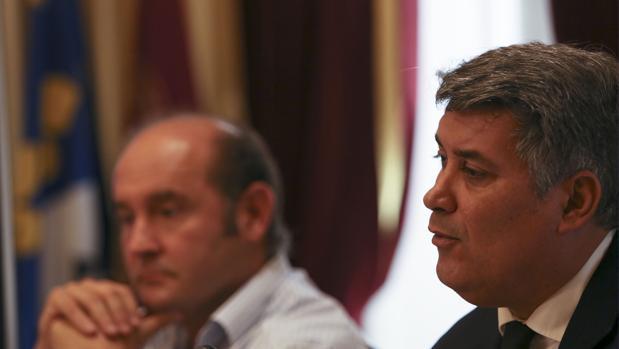 El portavoz del Grupo Popular, Ignacio Romaní.