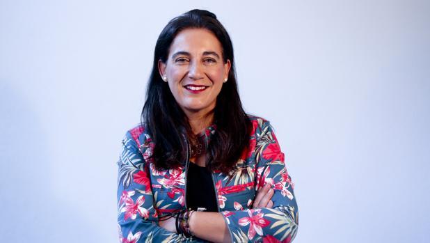 La escritora Yolanda Vallejo