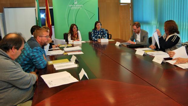 Reunión de los estamentos que conformaban el CTI que cerró sus puertas.