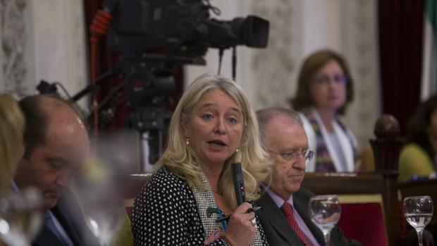 La concejal del PP, Mercedes Colombo.