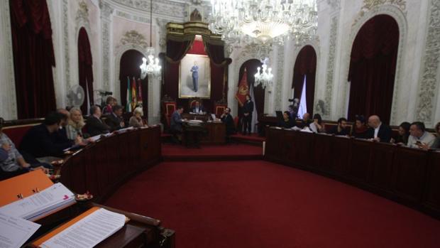 Un momento durante el Pleno