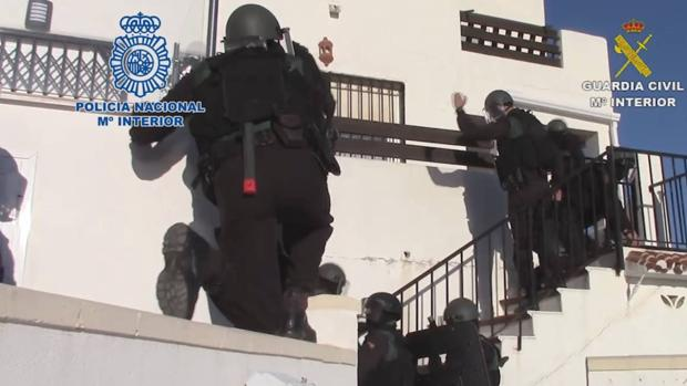 Una de las operaciones de la Policía contra el narcotráfico