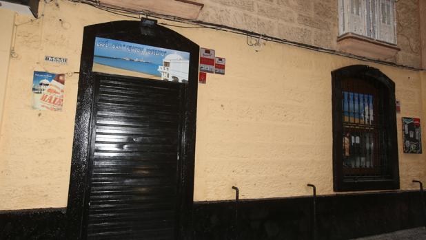 Uno de los locales que ha sufrido la oleada de robos en Cádiz.