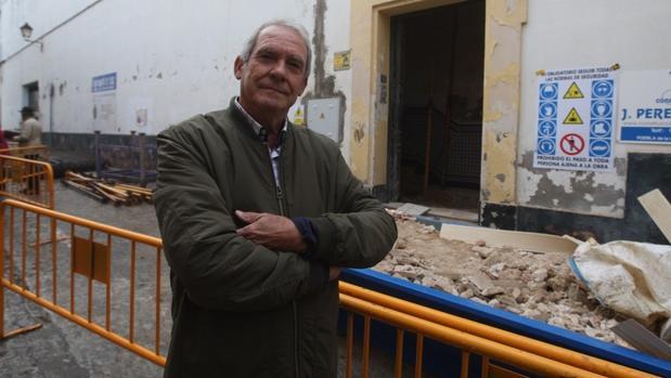 Antonio Jiménez, presidente de la Asociación de AMigos del Monasterio