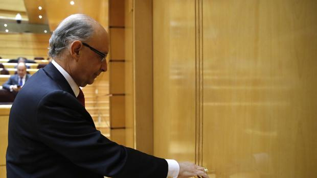 El ministro de Economía y Hacienda, Cristóbal Montoro.