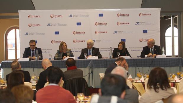 La Diputación y las Cámaras se han reunido en el noveno Foro de Economía e Internacionalización.