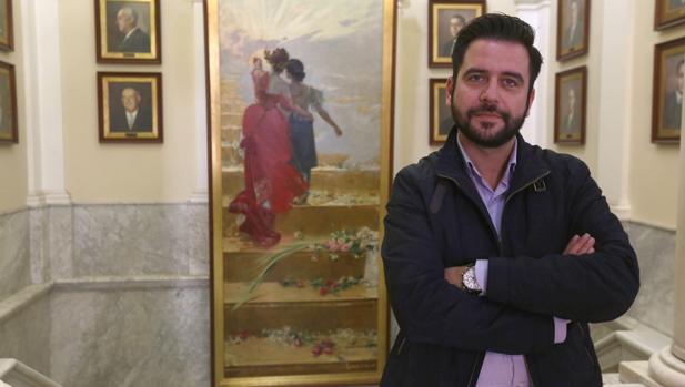 Fran González (PSOE) critica al equipo de Gobierno de Cádiz.