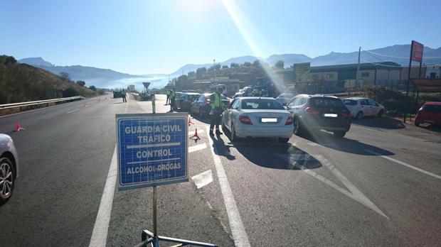 En las carreteras de la Sierra de Cádiz se produce el 80% de los accidentes de la provincia.