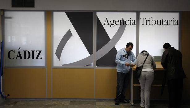 Instalaciones de la Agencia Tributaria en Cádiz