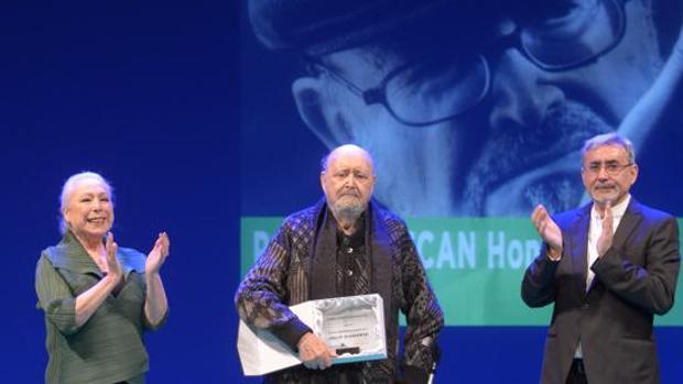 El gaditano Julio Diamante recogió el Premio de Honor en Asecan 2017.