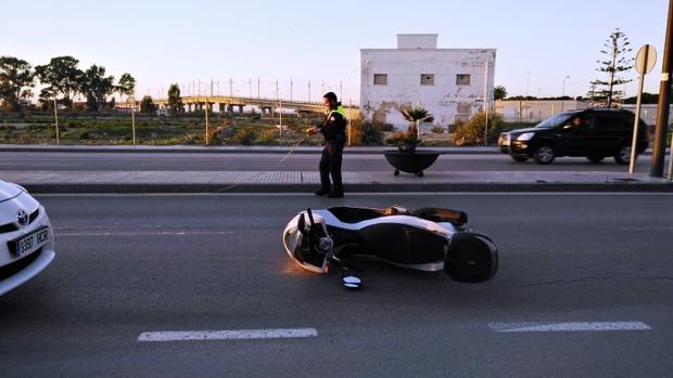 El accidente es el segundo que se produce en la ciudad en pocos días