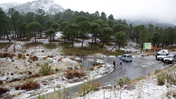 Nieve en Grazalema