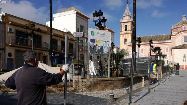 La plaza de Ntra. Sra. de Cuatrovitas cambiará para adaptarse a la peatonalización del casco antiguo