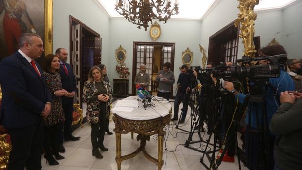 Irene García presenta el Plan de Empleo de 2018 a los medios de comunicación