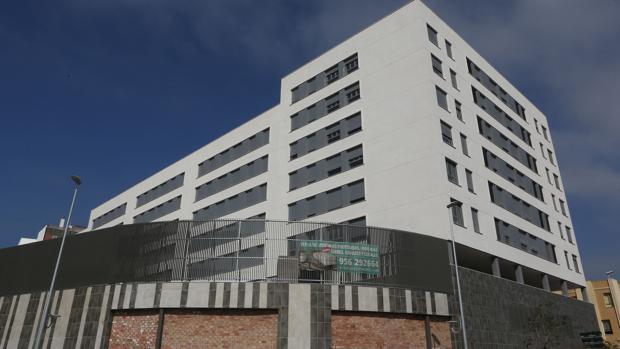 Una promoción de reciente construcción en San Fernando