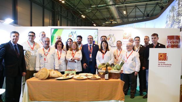 Presentación de la marca gastronómica «Los Palacios y Villafranca, Destino Gastronómico»