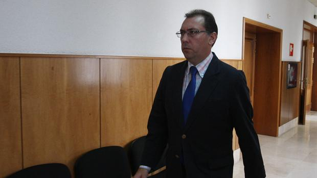 Jenaro Jiménez, en los pasillos de la Audiencia Provincial en 2016