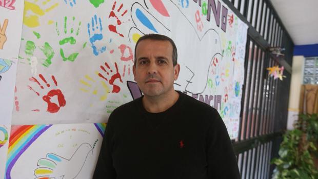 Nicolás Montero, director del IES Fernando Aguilar. :