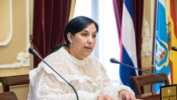 La concejal de Asuntos Sociales, Ana Fernández.