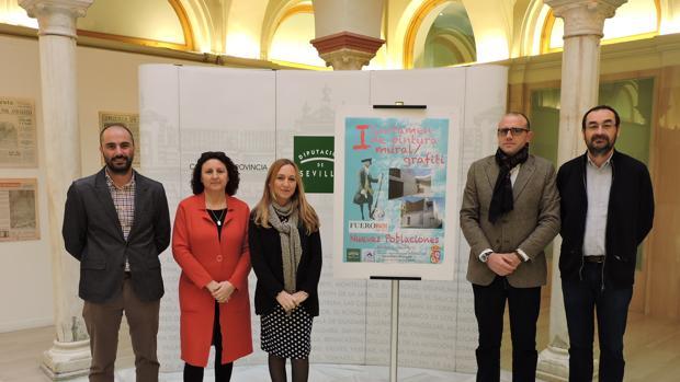 Presentación del concurso de pintura mural y grafiti en la Casa de la Cultura