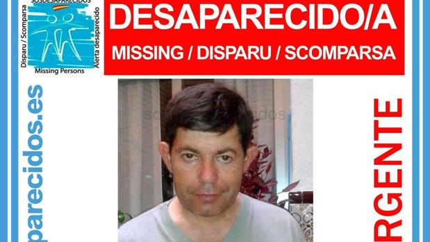 José Antonio Ferriz Fernández, desaparecido desde el lunes