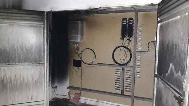 Contadores del incendio en El Viso del Alcor