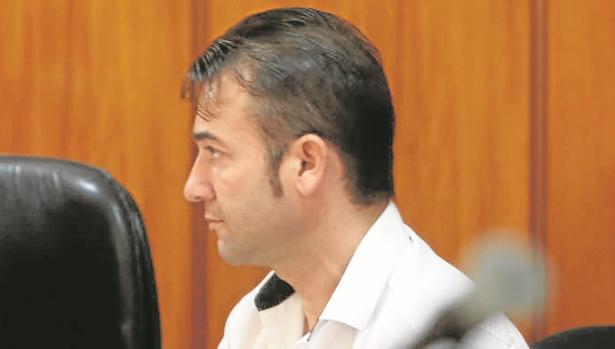 José Antonio Mesa, durante el juicio en la Audiencia Provincial.