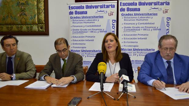 Presentación del estudio socioeconómico sobre el hospital y la escuela universitaria de Osuna