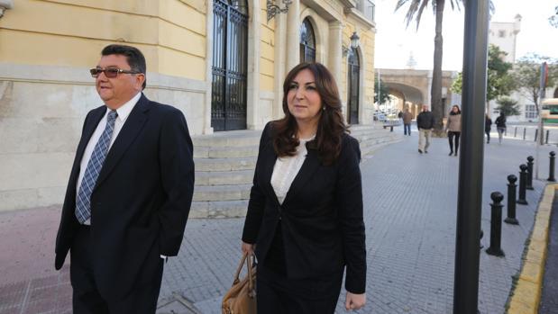 Lorenzo Sánchez y Eva Corrales.