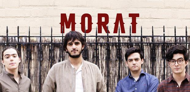 El grupo colombiano 'Morat'