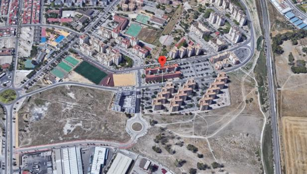 Avenida de la Libertad, en Jerez