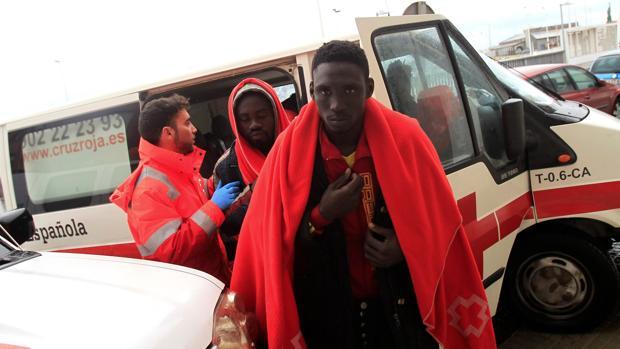 Llegada de inmigrantes al puerto de Tarifa en una imagen de archivo.