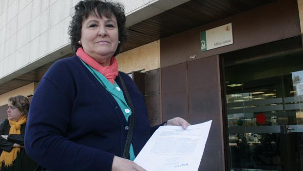 La trabajadora que ha denunciado los abusos sexuales y vejaciones en la residencia de Huerta Palacios