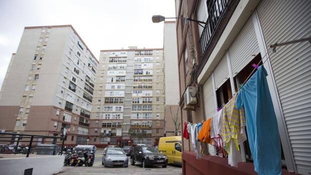 Guillén Moreno es uno de los barrios más desfavorecidos de la capital gaditana