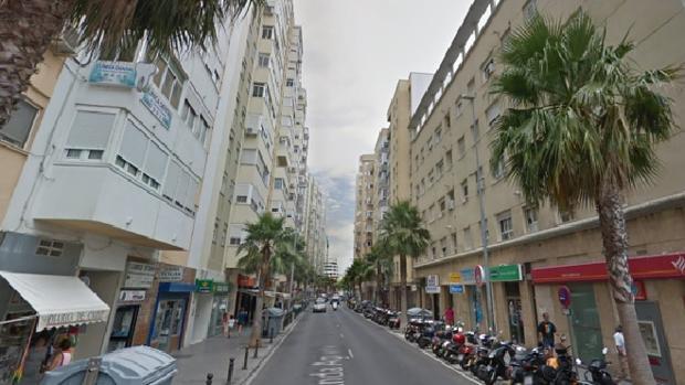 Imagen de la zona donde se encontraba la tienda de móviles donde trabajaba Begoña Arias