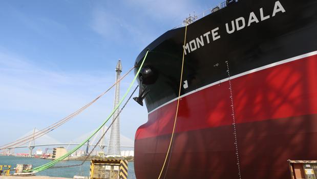 El 'Monte Udala' superó con éxito las pruebas de mar a finales de enero