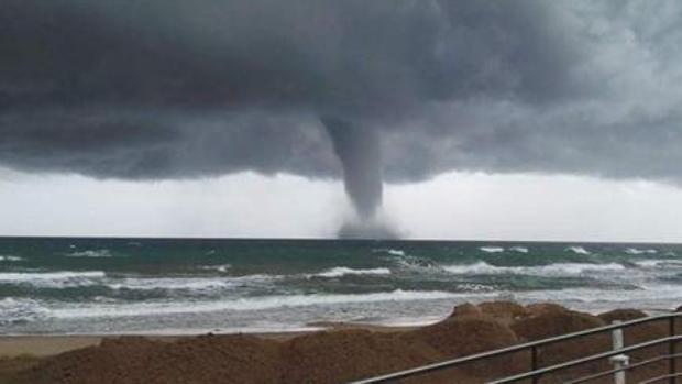 Imagen de un tornado