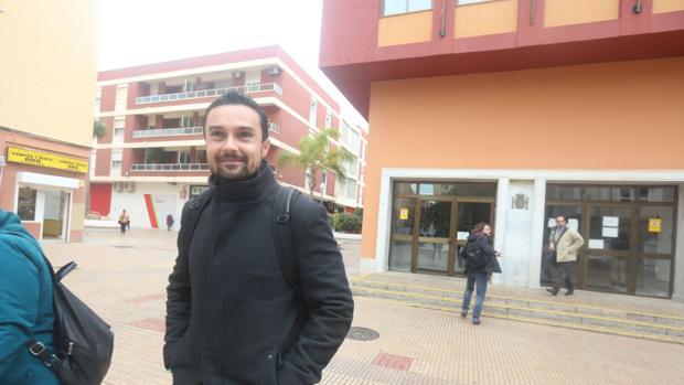 Martín Vila, a su salida de los Juzgados de San José.