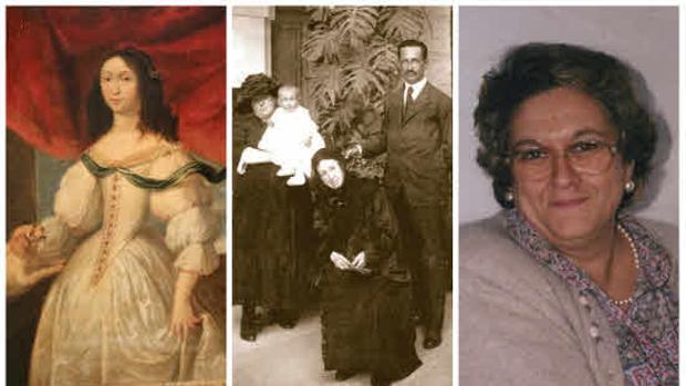 Rosario Cepeda, retrato familiar de Ana de Viya y Dora Reyes que son algunas de las protagonistas del callejero
