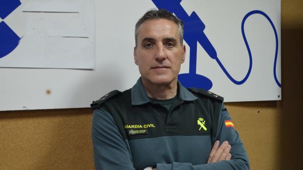 Blas Sevillano, capitán de la Guardia Civil de Utrera