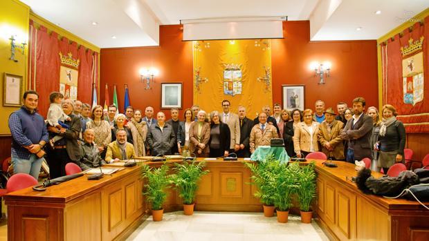 Homenaje que el Ayuntamiento de Villanueva ha realizado a los músicos nacidos o residentes en este municipio