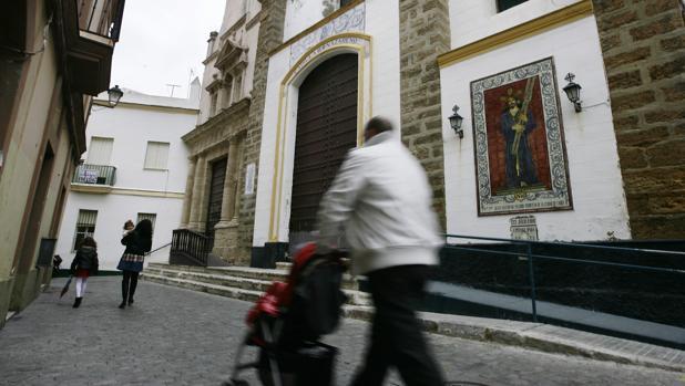Las calles del barrio de Santa María de Cádiz