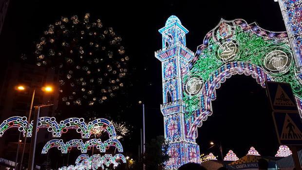 La portada de la Feria de Algeciras el pasado año.
