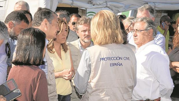 Díaz y Zoido, reunidos el pasado mes de junio en Moguer.