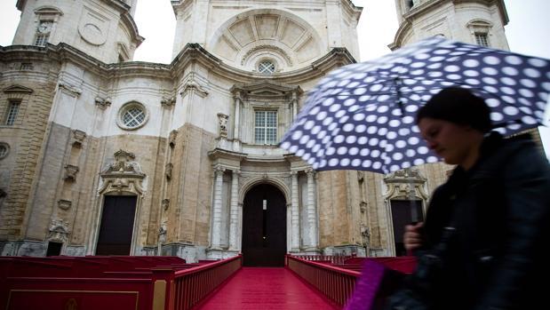Según la AEMET, las lluvias protagonizarán el comienzo de la Semana Santa en Cádiz