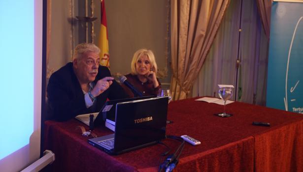 Tertulia Fernando Delgado Lallemand en el Casino Gaditano
