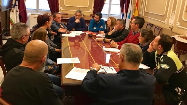 Los acomodadores se reunieron con representantes sindicales y del PSOE en el Ayuntamiento.