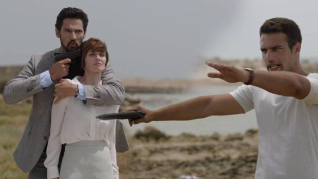Escena de la serie en la que participó.